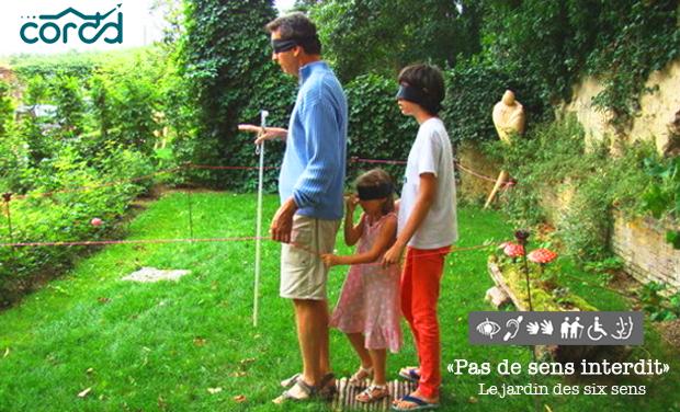 """Visuel du projet """"Pas de sens interdit"""" : le jardin des six sens"""