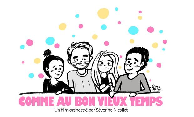 Visueel van project Comme au bon vieux temps - Court-métrage