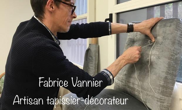 Visueel van project Fabrice Vannier, artisan tapissier-décorateur