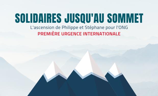Visuel du projet Solidaires jusqu'au sommet avec Première Urgence Internationale