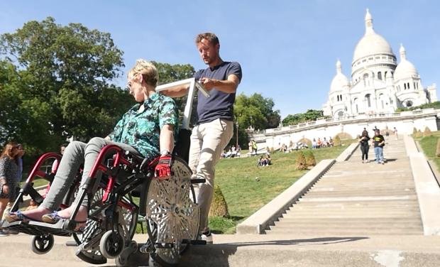Visuel du projet W4S Kit Monte-Escaliers pour fauteuil roulant