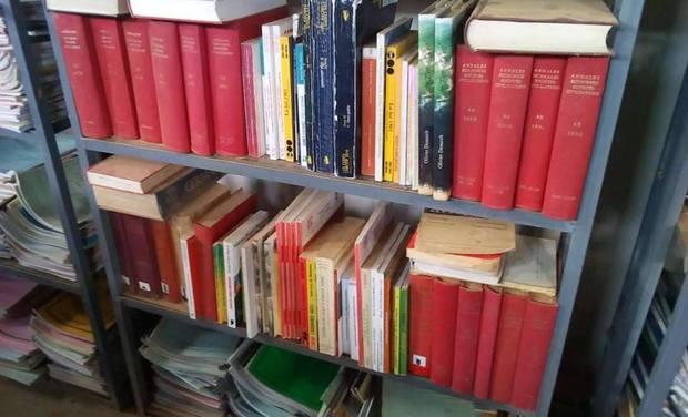 Project visual Une bibliothèque pour l'université de Likasi