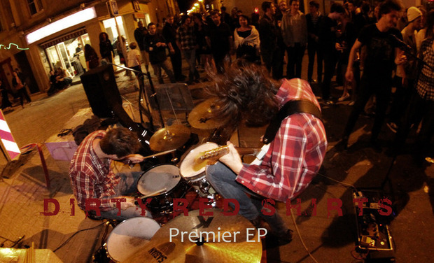 Visuel du projet Dirty Red Shirts : Premier EP !