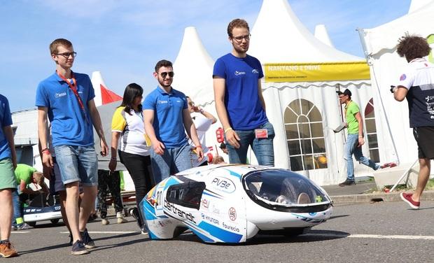 Visuel du projet Un véhicule étudiant et écologique à hydrogène - PV3e Laval
