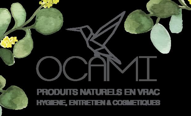 Project visual OCAMI - Boutique de produits Naturels et en vrac.