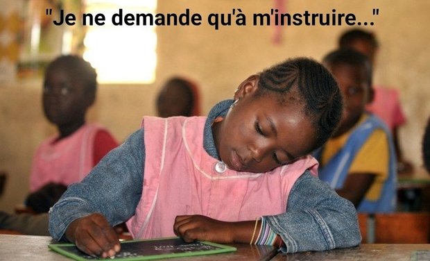 Visuel du projet Contribuons à faire de leur droit à l'éducation une réalité