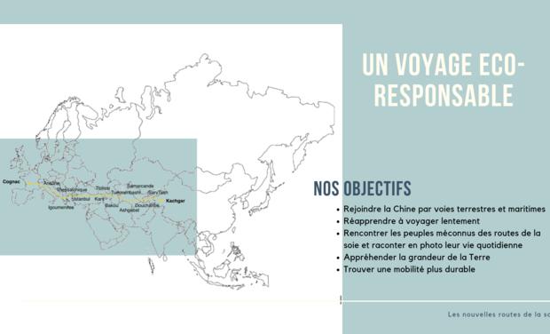 Visueel van project Les nouvelles routes de la soie