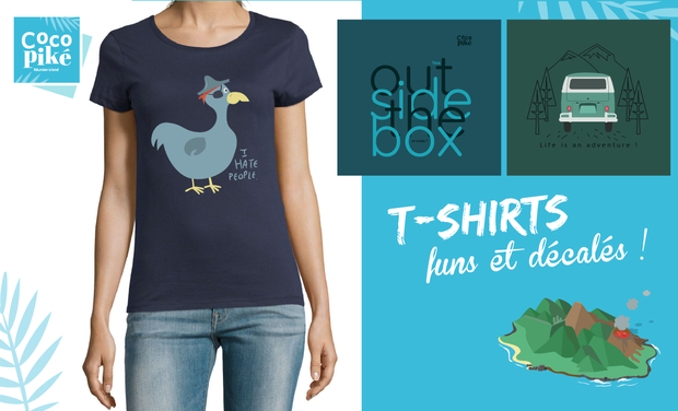 Visuel du projet T-shirts et affiches inspirés de voyages !