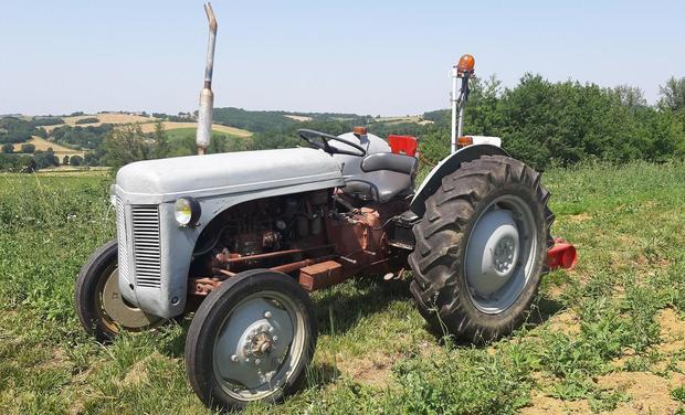 Visueel van project Un tracteur pour le labeur !
