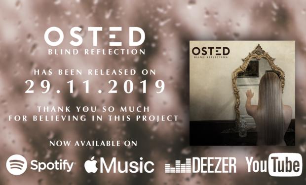 Visuel du projet OSTED enregistre son premier album à Londres