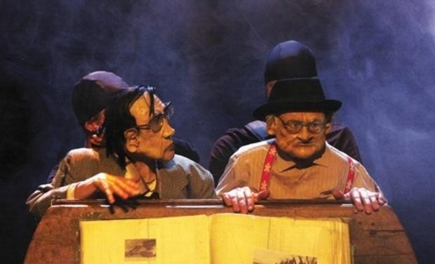 Visuel du projet Sénidrol au Festival Mondial de la Marionnette (Charleville Mézières)
