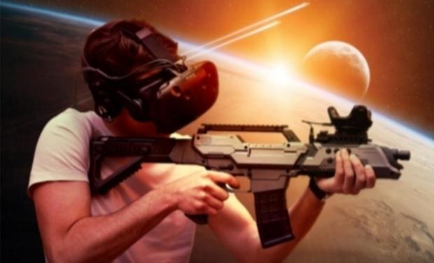 Project visual La Matrice salle d'arcade VR