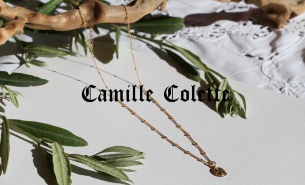 Visuel du projet Camille Colette : les bijoux goldfilled
