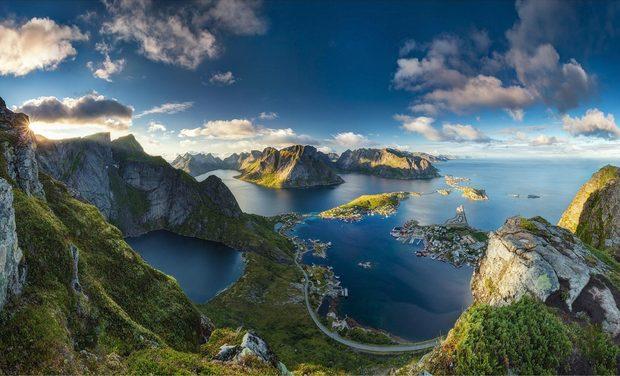 Visuel du projet France - Norvège à vélo