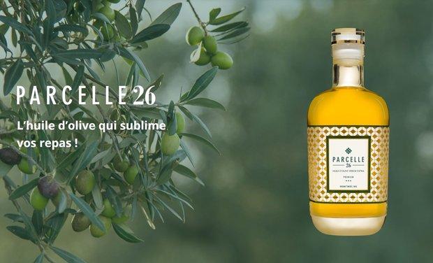 Project visual Parcelle 26 - L'Huile d'olive qui sublime vos repas !