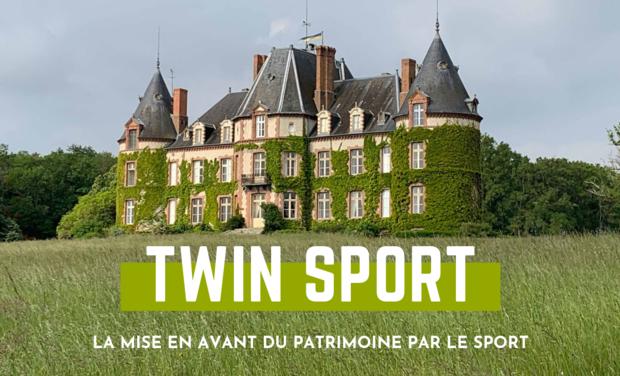 Project visual Twin Sport, le sport pour la mise en avant du patrimoine