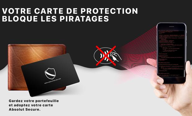 Visuel du projet Carte de protection pour votre carte bancaire sans contact