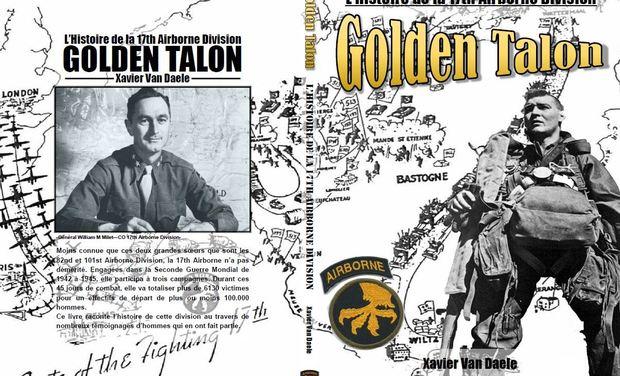 """Visuel du projet Livre: Golden Talons """"L'Histoire de la 17th Airborne"""""""