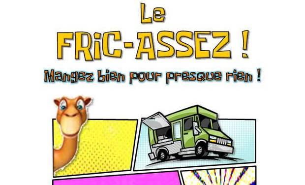 """Visuel du projet """"FRIC-ASSEZ !""""  Mangez bien pour presque rien !"""