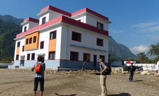 Visuel du projet Projet solidaire au Népal - Un toit sous l'Himalaya