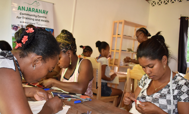 Project visual Soutenez la formation des couturières au Centre Communautaire Anjaranay