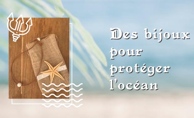 Project visual Perle de Pluie - Bijoux pour protéger les océans