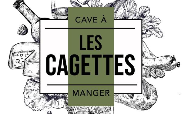 """Project visual """"LES CAGETTES"""" - Cave à manger & pépites de terroir"""