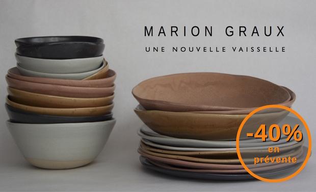 Project visual Une nouvelle vaisselle par Marion Graux