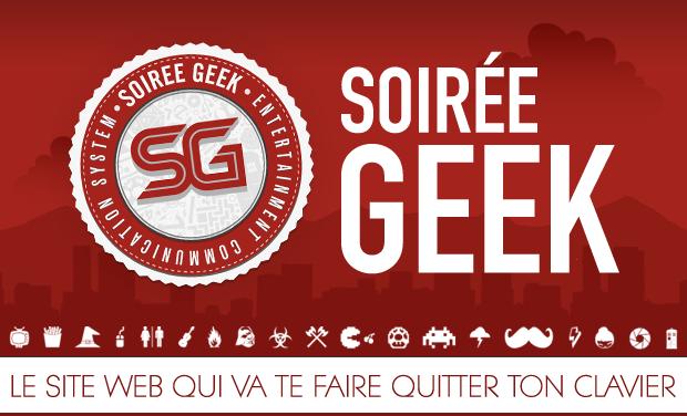 Visuel du projet Soirée Geek - Le site de tous les événements Geek