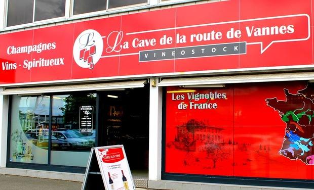 Visuel du projet Soutenez Vineostock La Cave de La Route de Vannes