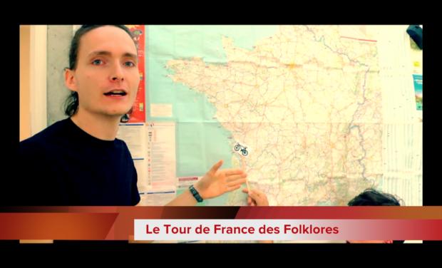 Visuel du projet Le Tour de France des Folklores