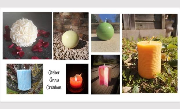 Visuel du projet Les bougies Anna