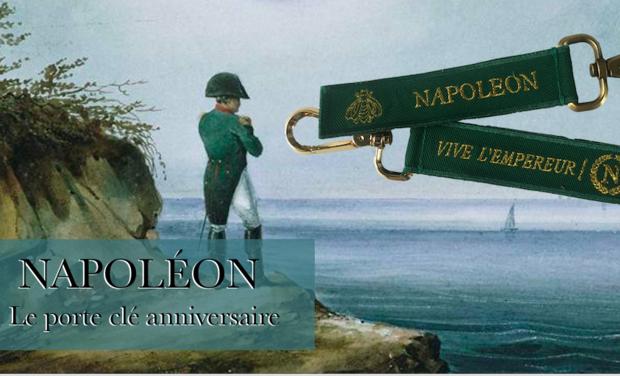 Visuel du projet Napoleon le porte clé anniversaire