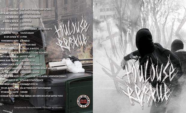 Visuel du projet TOULOUSE REBELLE - compil punk toulousaine
