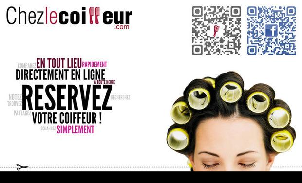 Visuel du projet Chezlecoiffeur.com : Réservez votre coiffeur en ligne !
