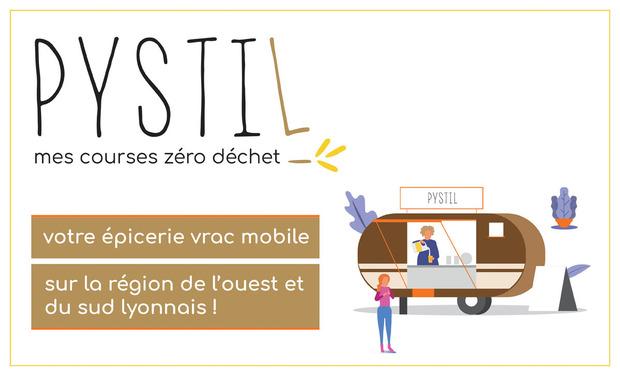 Visuel du projet PYSTIL : épicerie mobile bio, locale et sans emballage, à Lyon !