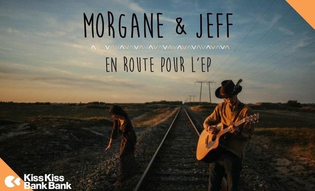 "Visuel du projet Premier EP ""Morgane & Jeff"""