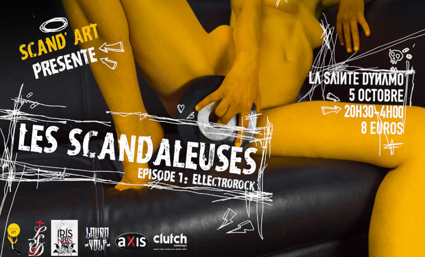 Visuel du projet Les Scandaleuses - Épisode 1 : ELLEctrorock