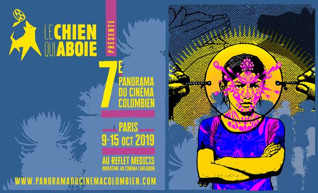 Visuel du projet 7e édition du Panorama du Cinéma Colombien - PARIS 2019 !