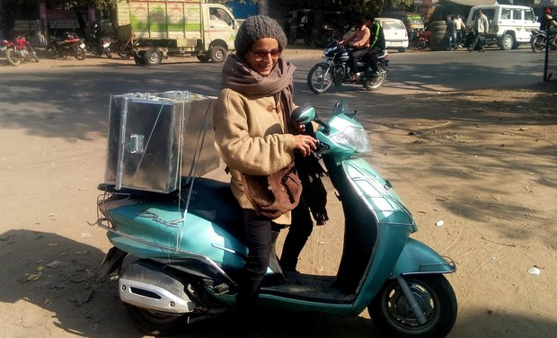 Visuel du projet Appel aux dons pour l'achat d'un scooter. Chitrakoot, projets indiens!