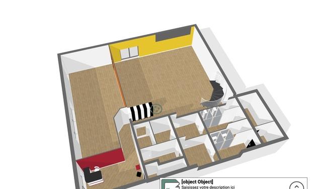 Visuel du projet Création du Giet'Studio (Salle de Fit et Danse à Ivry-sur-Seine)