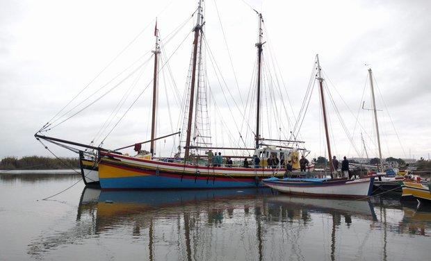 Visuel du projet Social project in the wind! Rénovation d'un navire associatif traditionnel.