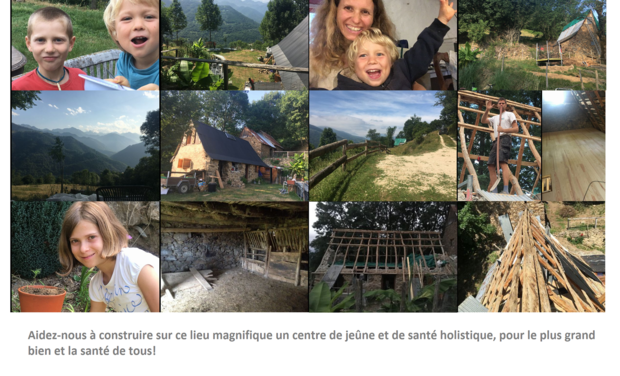 Project visual Fasting and holistic health center in the French Pyrennees