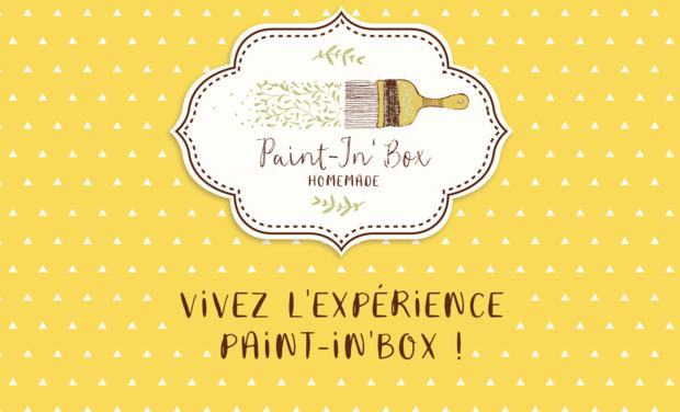 Visuel du projet PAINT-IN'BOX, la Box DIY écoresponsable pour récupérer, recycler, customiser...