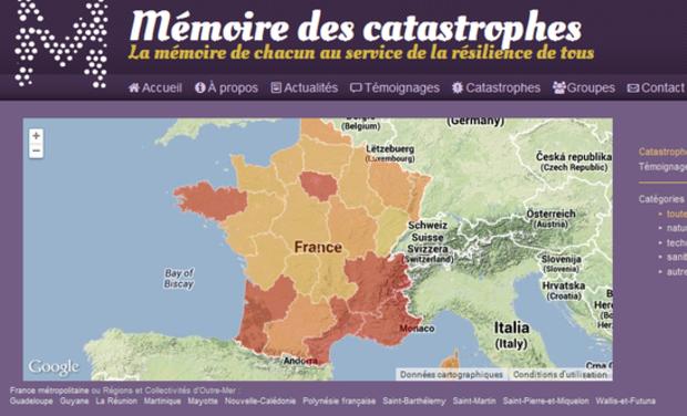 Visuel du projet Mémoire des Catastrophes