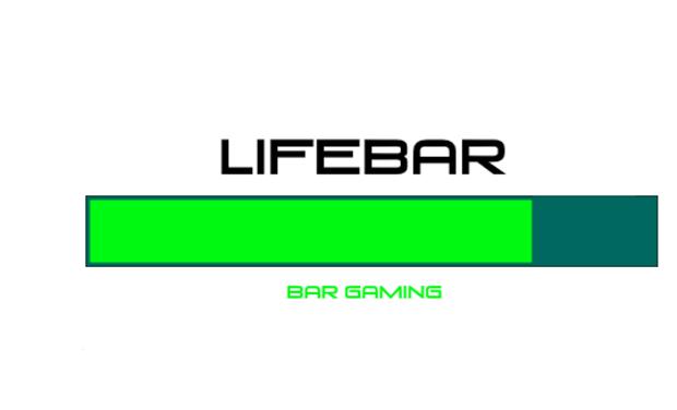 Project visual Lifebar - Bar à thème Gaming et événementiels