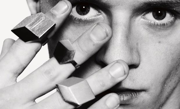 Project visual De Maarse Paris , des bijoux aussi pour les hommes
