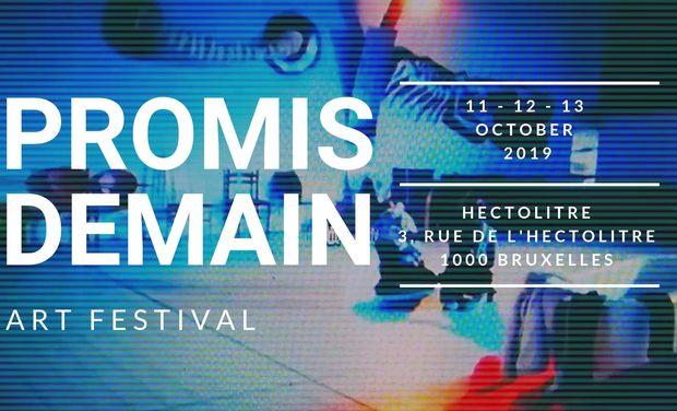 Visuel du projet PROMIS DEMAIN, art festival.