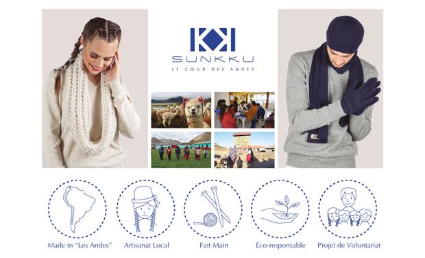 Visueel van project SUNKKU - Le Cœur des Andes / La Mode qui unit deux Mondes