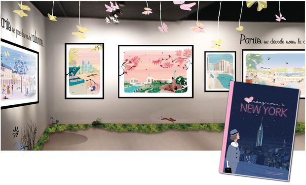 Visuel du projet Une exposition à l'Hôtel de Ville de Paris… et un album illustré !